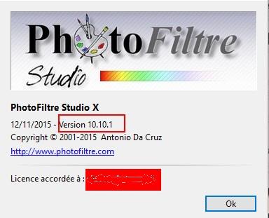 """N° 22 PFS """" Filtre Renforcement sur Image """" Psf10110"""