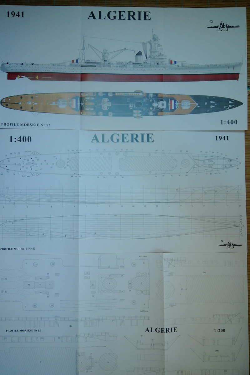 [1/400] Croiseur Algérie Maquet34