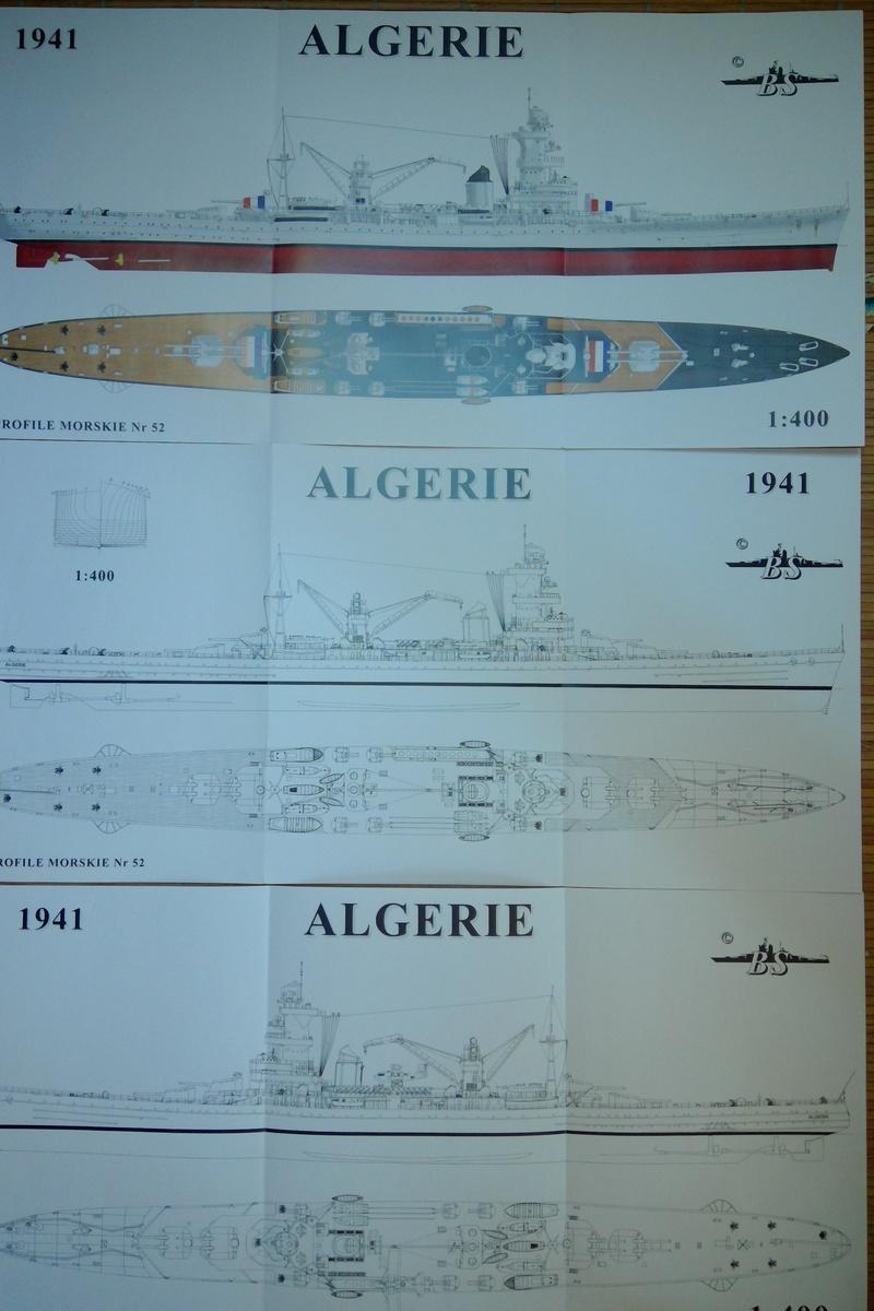 [1/400] Croiseur Algérie Maquet35