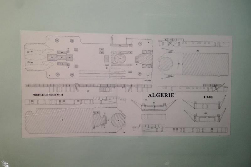 [1/400] Croiseur Algérie Maquet42