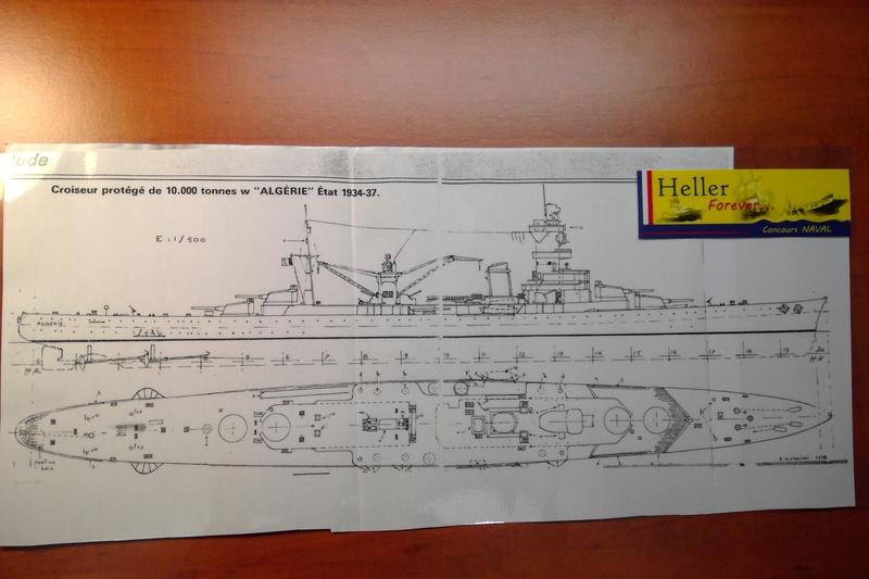 Croiseur lourd de 10 000 t  ALGERIE - Page 2 Maquet62