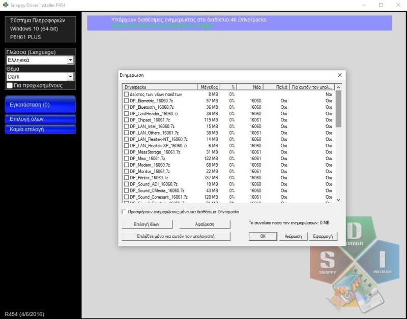Snappy Driver Installer R1909 210