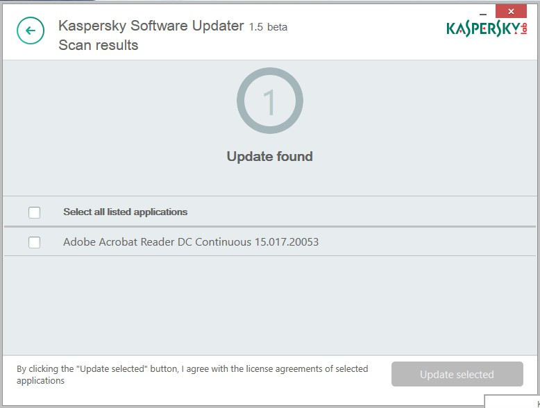 Kaspersky Software Updater 2.0.1.65 254