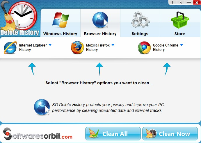 Delete History 1.1.6 - Καθαρίστε το ιστορικό του browser σας με ασφάλεια 316