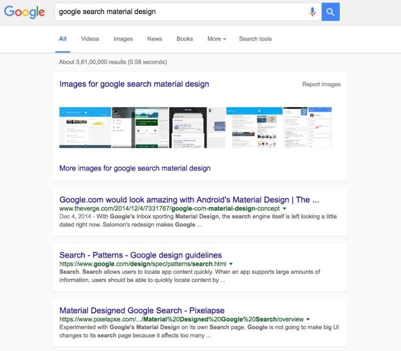 [Update] Νέος επανασχεδιασμός της μηχανής αναζήτησης της Google; Google11