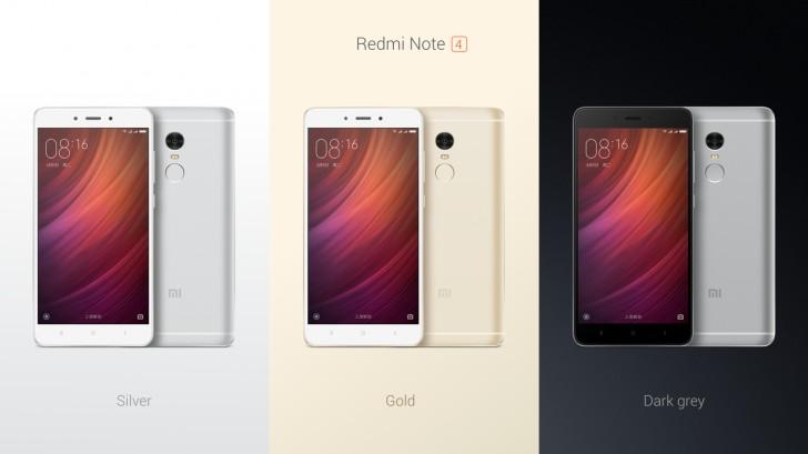 Επίσημo το smartphone Xiaomi Redmi Note 4 Gsmare13