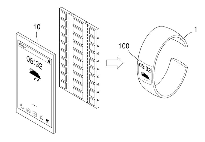 H Samsung κατέθεσε δίπλωμα ευρεσιτεχνίας για συσκευή 3-σε-1 με εύκαμπτη οθόνη OLED Samsun10