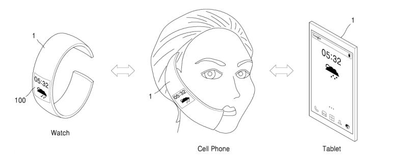 H Samsung κατέθεσε δίπλωμα ευρεσιτεχνίας για συσκευή 3-σε-1 με εύκαμπτη οθόνη OLED Samsun11