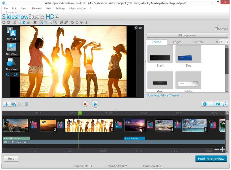 Ashampoo Slideshow Studio HD 4 (Review)  Scr_as11