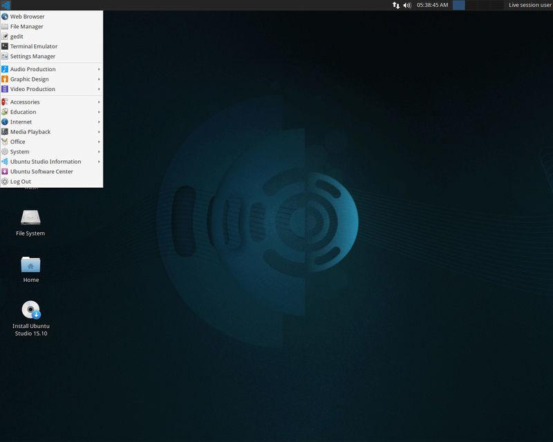 Ubuntu Studio 16.04.2 - Λειτουργικό σύστημα Linux με εφαρμογές για τον ήχο, βίντεο και γραφικά Ubuntu10