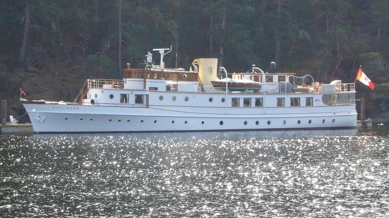 Yacht  classique à moteur 1920 / 1930 NEMESIS 25153010