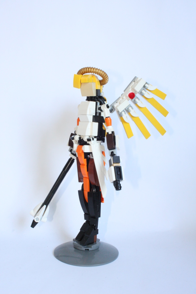 [MOC] Angela Ziegler aka Mercy. LEGO Overwatch.[micro update] Img_1116