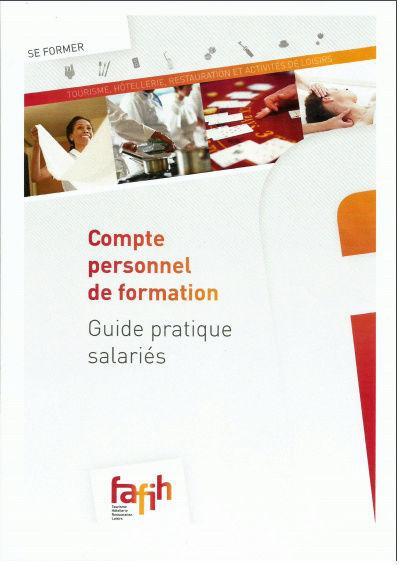 Compte personnel de formation - Guide pratique des salariés F.A.F.I.H Compte11