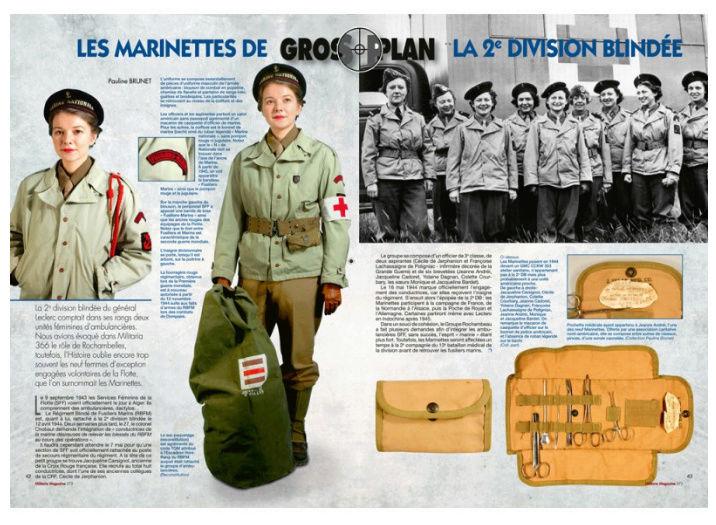 Article S.F.F. du RFBM - Militaria Magazine n°372 Articl11