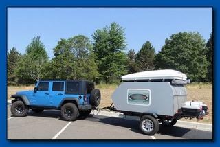 TY-DEAN CUSTOM CAMPERS \ Off road teardrop trailer Jk_and10