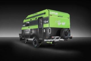 """Beau produit """"off road"""" Australien : La Off Grid de Lotus Caravans Lotus-10"""