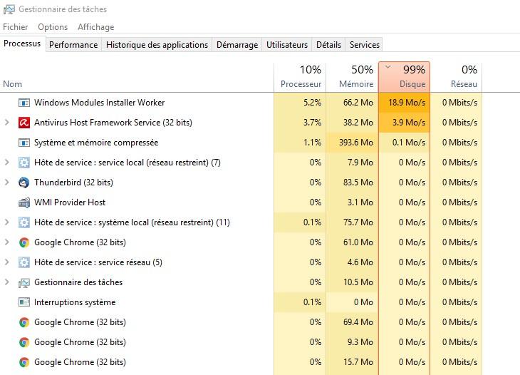 [résolu] Surcharge de mon CPU inquiétante Screen10