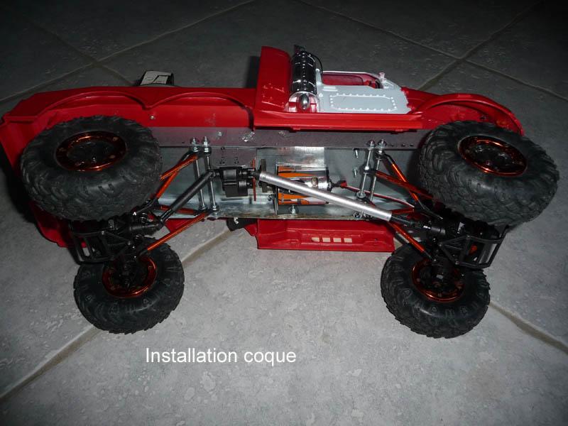 Mon camion de pompier SCFX RC Scale 1/10 7-inst10