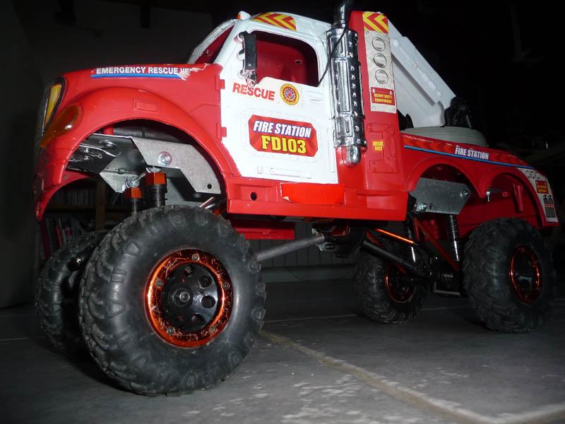 Mon camion de pompier SCFX RC Scale 1/10 9-autr10