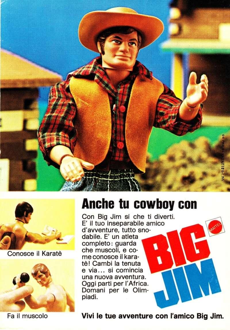 """PUBBLICITÀ """"ANCHE TU COWBOY CON BIG JIM"""" Image16"""