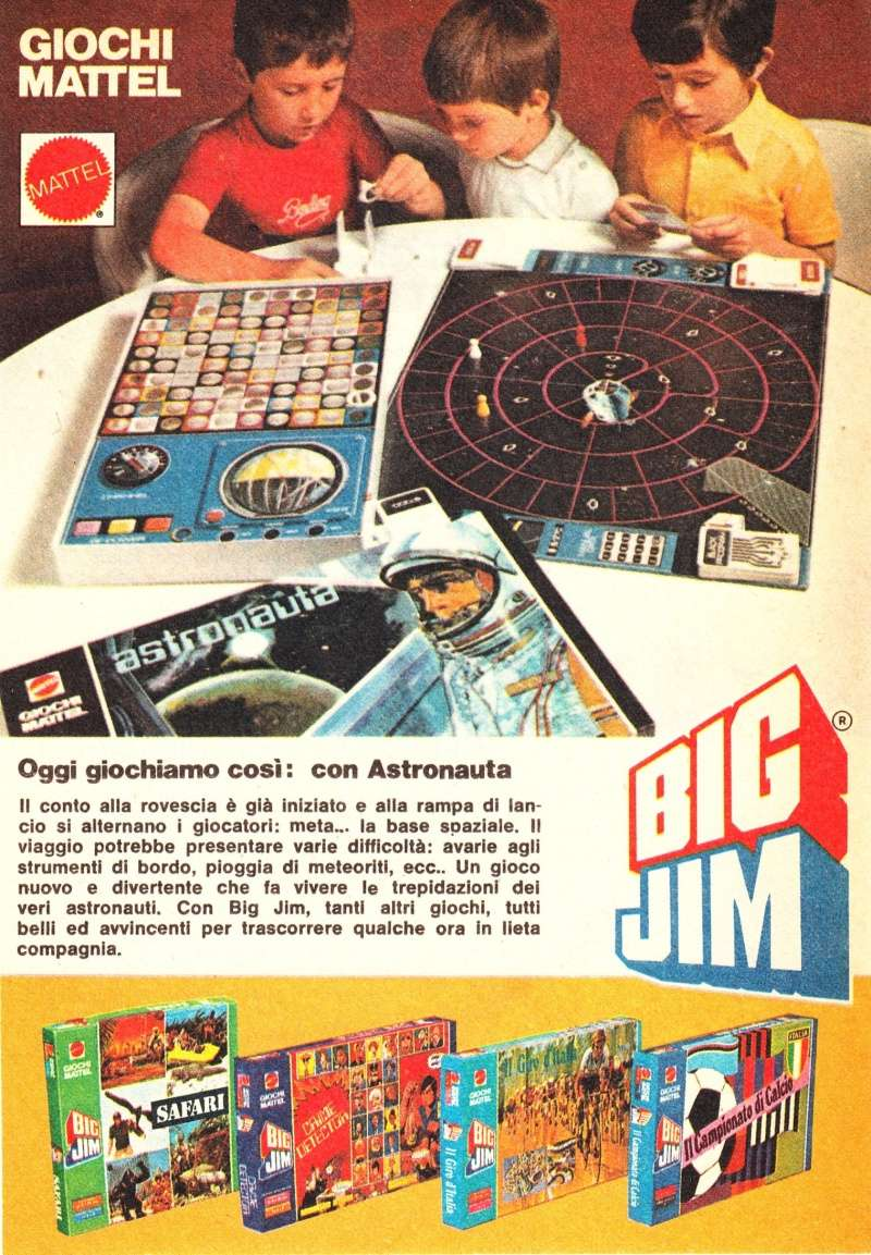"""PUBBLICITÀ """"GIOCO ASTRONAUTA"""" Image44"""