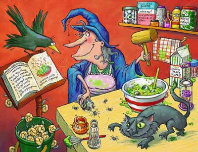 Кухонная магия. Кухонная ведьма. 330gua10