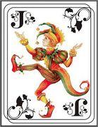 «Заклинания с игральными картами в европейской магии».  Joker_10