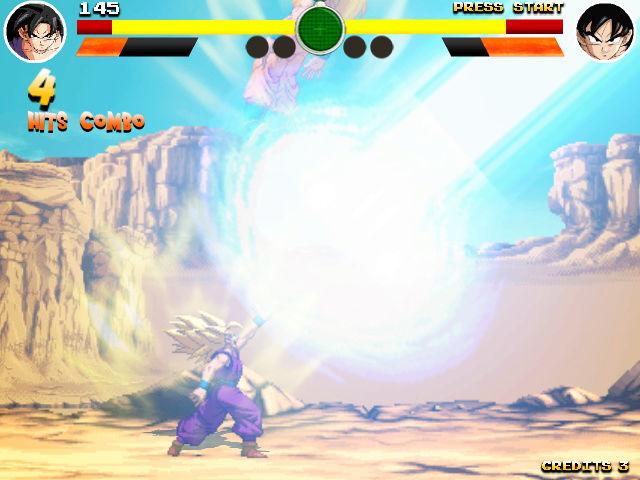 Mon jeu DBZ sur borne 15k Screen15