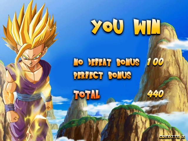 Mon jeu DBZ sur borne 15k Screen16
