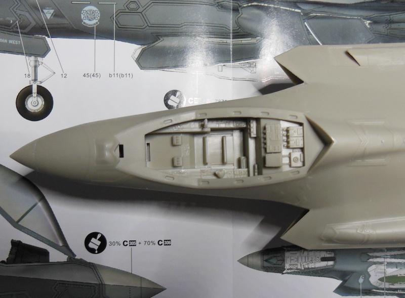 Kleiner Baubericht F35A-AF01 von Kitty Hawk 1/48 Dscn3412