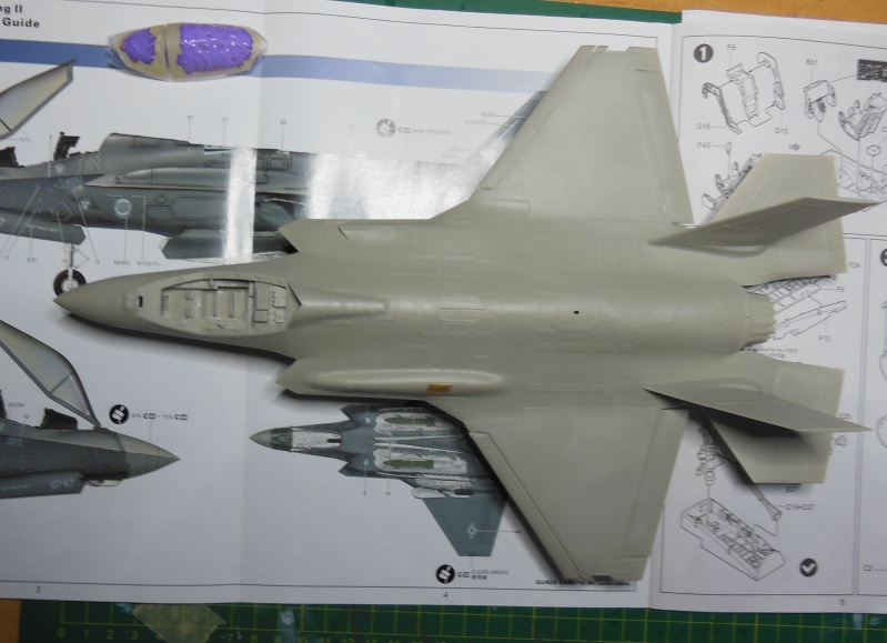 Kleiner Baubericht F35A-AF01 von Kitty Hawk 1/48 Dscn3414