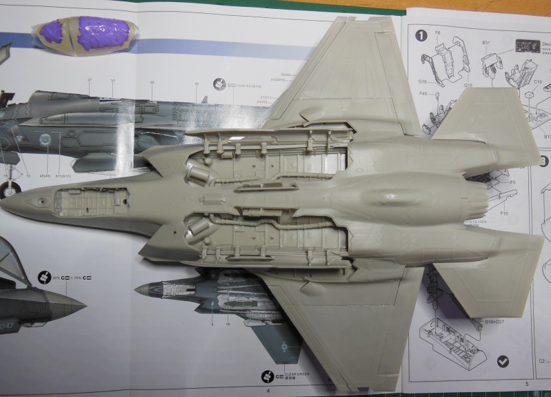 Kleiner Baubericht F35A-AF01 von Kitty Hawk 1/48 Dscn3416
