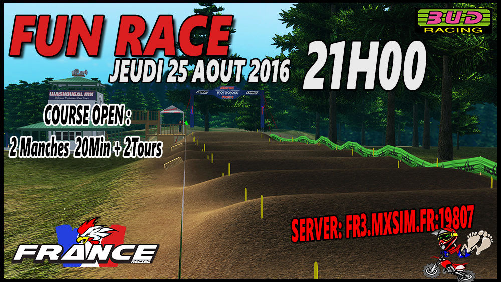 FUN RACE Jeudi 25 AOUT  2016 Affich10