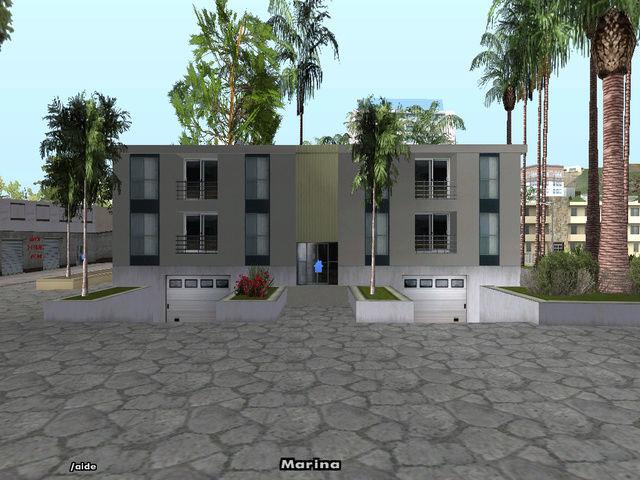 Maison Moderne sur Marina. Sa-mp-16