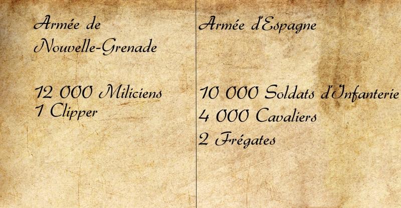 Reconquête espagnole de la Nouvelle-Grenade [Février 1815 - Juin 1816] Guerre10