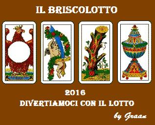 VINCITORI del Briscolotto 2016 sono: VITA MARIA, MAXI e GABRI Brisco25