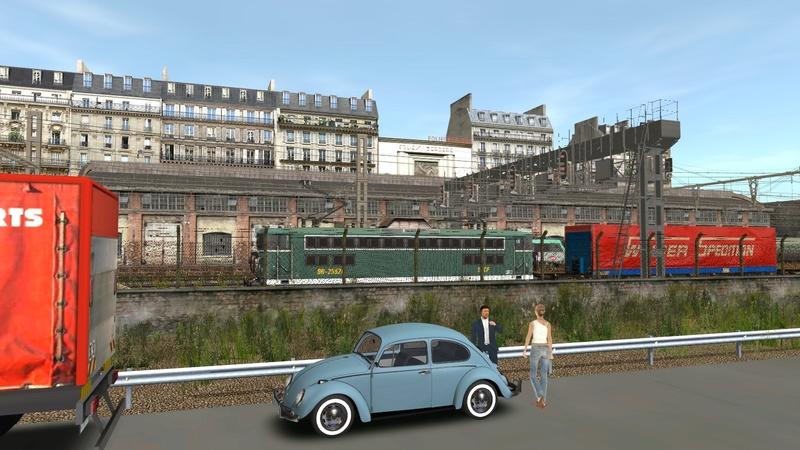 Ambiance ferroviaire Giraud76