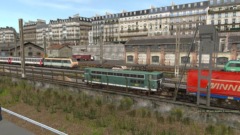 Ambiance ferroviaire Giraud77