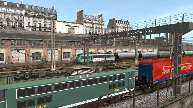 Ambiance ferroviaire Giraud80