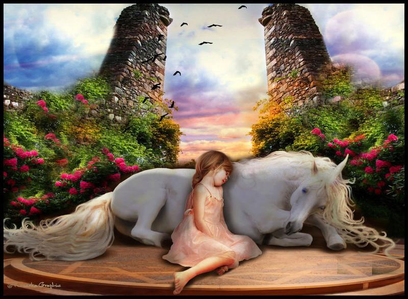 Licornes, centaures et chevaux ailés La_lic11