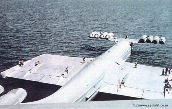 Ekranoplane Ek01-012