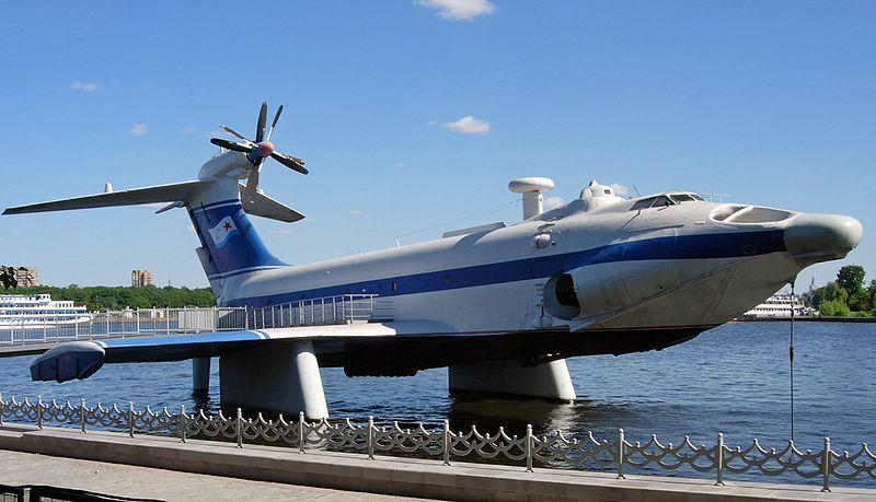 Ekranoplane Ek03-011