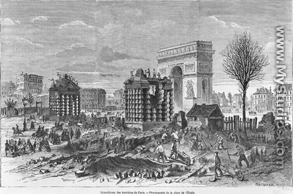 Arc de Triomphe: inauguration le 29 juillet 1836 Size110