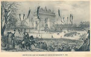 Arc de Triomphe: inauguration le 29 juillet 1836 Thgpx410