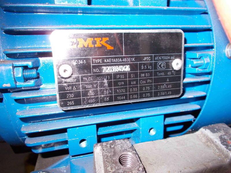 Inversion du sens de rotation d'un moteur 220V tri avec condensateur Dscn0210