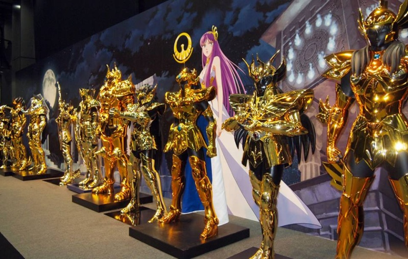 """Les Chevaliers d'Ors échelle 1/1 : """"Complete Works Of Saint Seiya, 30th Anniversary"""" 13407110"""