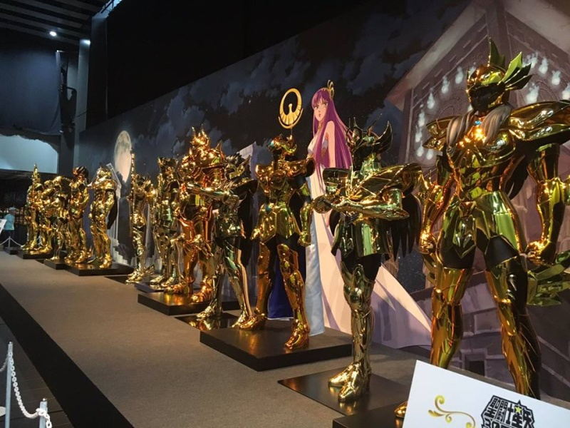 """Les Chevaliers d'Ors échelle 1/1 : """"Complete Works Of Saint Seiya, 30th Anniversary"""" 13418910"""