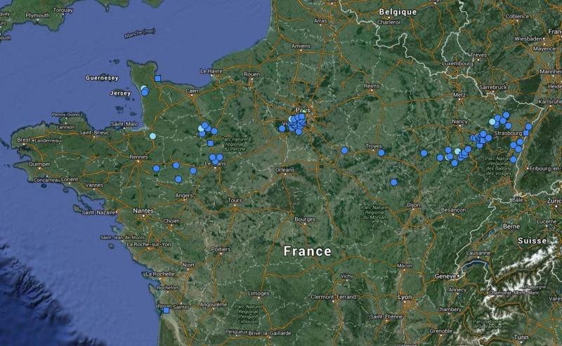 Verdun Meuse ( + Borne Voie de la Liberté ) Bornes10