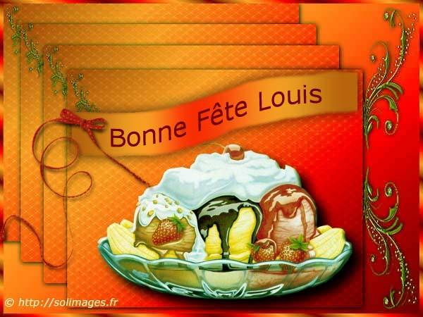 fête  à  souhaiter   - Page 5 Louis_10