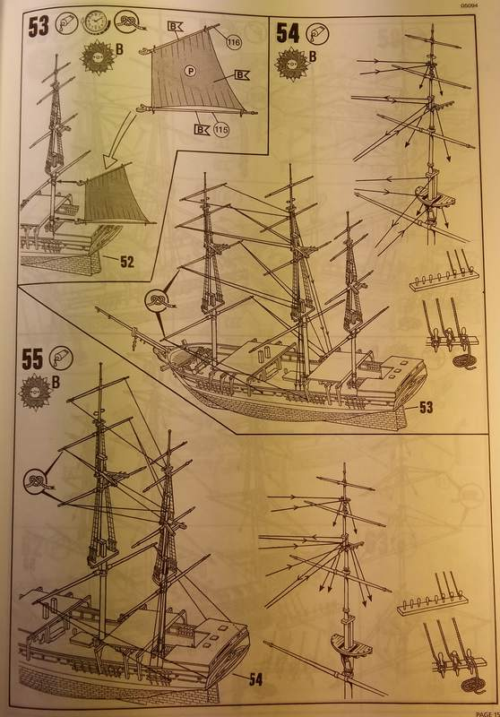 Historic Whaling Ship Charles W. Morgan in 1/110 von Revell Comp_103